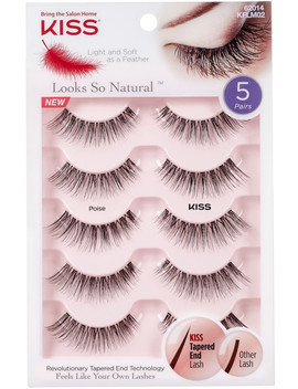 Looks So Natural Lash Poise, Multipack by Kiss
