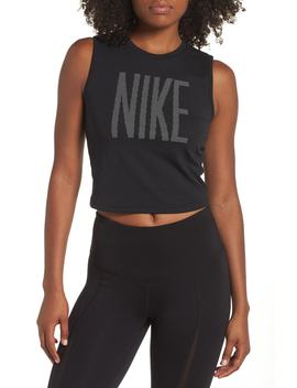 Dry Elevated Crop Training Tank by Nike