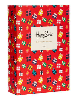 Happy Socks Sock Advent Calendar, One Size, Pack Of 24, Multi by Happy Socks