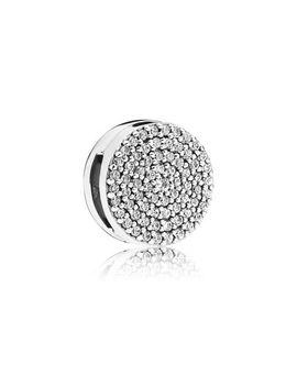 Pandora Reflexions™ Dazzling Elegance Clip Charm, Clear Cz Sterling Silver, Silicone, Cubic Zirconia by Pandora
