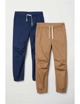 2 Pack Pull On Pants by H&M