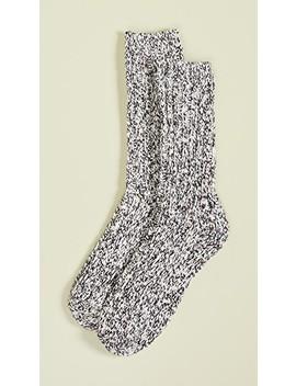 Fiesta Slub Marled Trouser Socks by Madewell