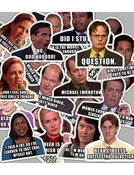 The Office Stickers   Sticker Set With Funny Quotes by Ana Luo