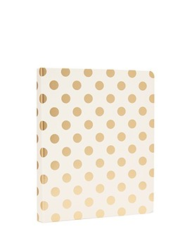 Gold Pavilion Spiral Notebook by Kate Spade New York