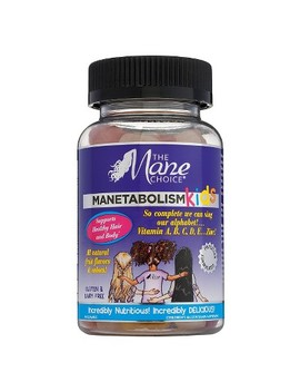 The Mane Choice Manetabolism Kids Healthy Hair Vitamins   60ct by The Mane Choice