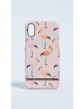 Pink Flamingo I Phone X Case by Richmond & Finch