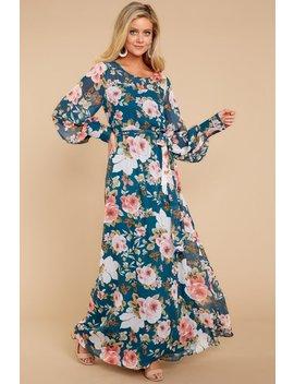 Make Your Way Maxi Dress In Glorious Gardens by Rokoko