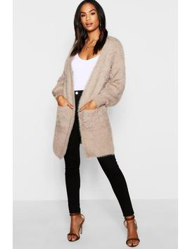 Tall Soft Knit Long Cardigan by Boohoo