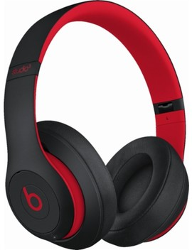 Geek Squad Certified Refurbished Beats Studio³ Wireless Headphones   The Beats Decade Collection   Defiant Black Red by Beats By Dr. Dre
