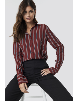 Mixed Stripes Shirt by Na Kd Trend