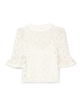 Cutout Jersey Top by See By Chloé
