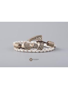 Axe Bracelet Wristband With Big Axe Bracelet With Axe Viking's Axe Viking Jewelry Pagan Jewelry Slavic Axe Perun's Axe 001 334 by Etsy