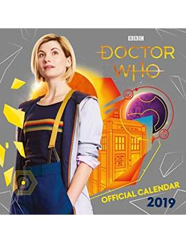 Doctor Who Official 2019 Calendar   Square Wall Calendar Format by Doctor Who