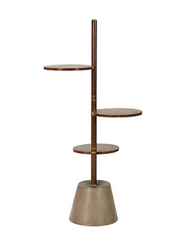 Safavieh Cadman Indoor/Outdoor Modern Concrete 3 Tier 31.5in Etagere by Safavieh