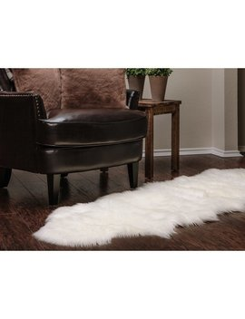 House Of Hampton Lucille Faux Fur White Indoor/Outdoor Area Rug & Reviews by House Of Hampton