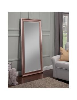 Rose Gold Full Length Leaner Floor Mirror by Sandberg Furniture