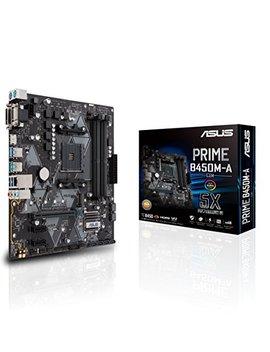 Asus B450 Amd Ryzen 2 Micro Atx Gaming Motherboard Am4 Ddr4 Hdmi Dvi Vga M.2 Usb 3.1 Gen2 (Prime B450 M A/Csm) by Asus