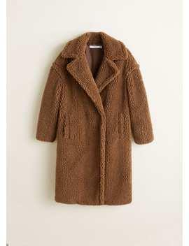 Długi Płaszcz Kożuch by Mango