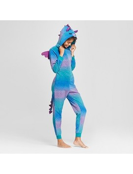 Women's Halloween Dragon Union Suit   Xhilaration™ Purple by Shop This Collection
