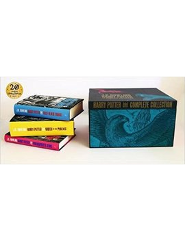 Harry Potter Adult Hardback Boxed Set: Contains: Philosopher's Stone / Chamber Of Secrets / Prisoner Of Azkaban / Goblet Of Fire / Order Of The Phoenix / Half Blood Prince / Deathly Hollows by Amazon