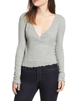 Lettuc Edge Ribbed Top by Bp.