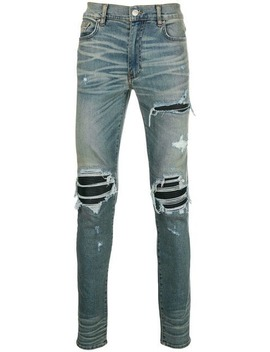 Distressed Slim Fit Jeans by Amiri