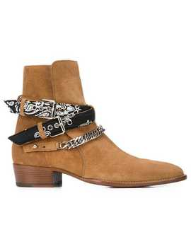 Ankle Chain Straps Boots by Amiri