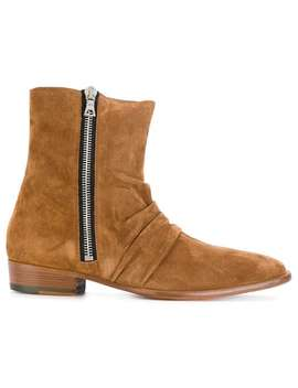 Skinny Stack Boots by Amiri