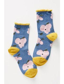 Flower Crew Socks by Hansel From Basel