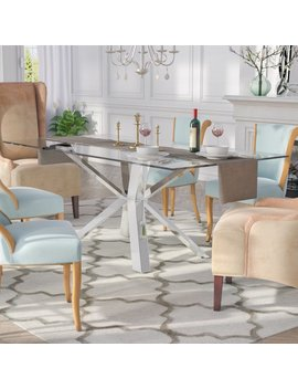 Everly Quinn Marshall Dining Table & Reviews by Everly Quinn