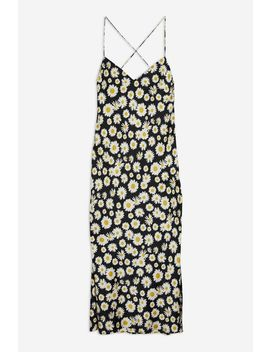 daisy-cowl-back-slip-dress by topshop