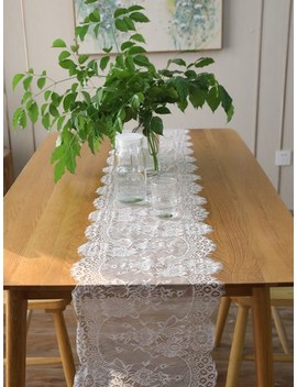 Lace Table Runner by Sheinside