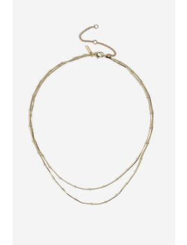 **Station Ball Chain Necklace by Topshop