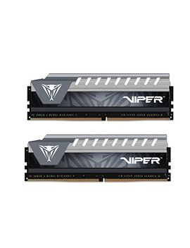 Patriot Viper Elite Series Ddr4 16 Gb (2x8 Gb) 2666 M Hz Pc4 21300 Dual Memory Kit (Black/Grey) by Patriot