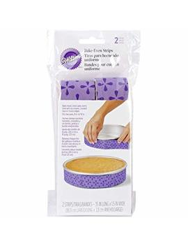 Wilton Bake Even Cake Strips, 2 Piece by Wilton