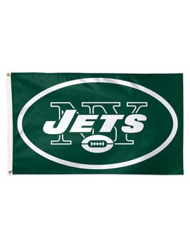 New York Jets Win Craft Deluxe 3' X 5' Flag by Win Craft