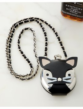 Wearable Cat Flask by Neiman Marcus