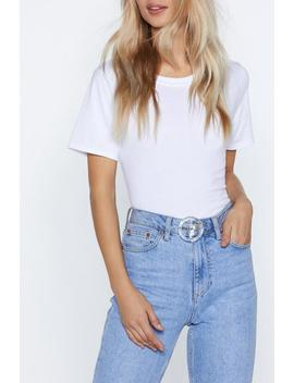 See It Through Clear Belt by Nasty Gal