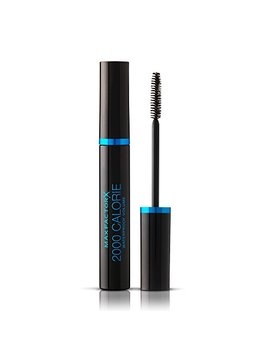 Max Factor 2000 Calorie Waterproof Volume Mascara, Smudge Proof, Black, 9 Ml by Max Factor
