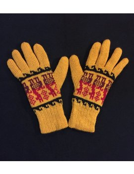 Alpaca Gloves by Etsy