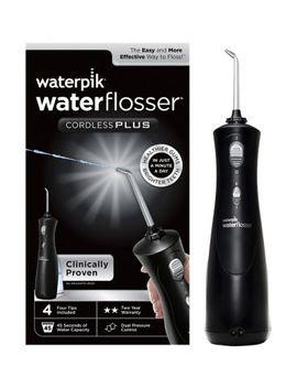 Waterpik Black Cordless Plus Water Flosser Wp 462 Uk by Waterpik