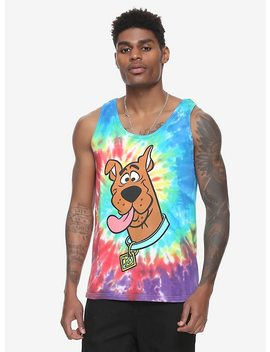 Scooby Doo Tie Dye Tank Top Hot Topic Exclusive by Hot Topic