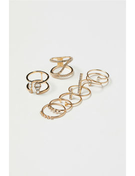 8 Pack Rings by H&M