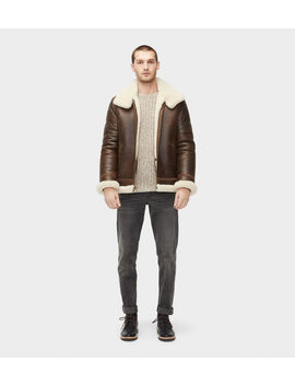 Auden Shearling Aviator Jacket by Ugg