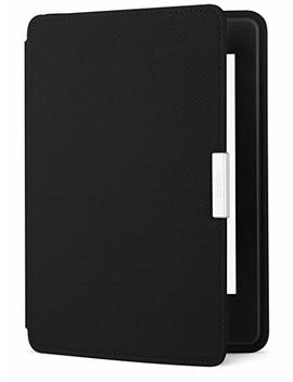 Amazon Kindle Paperwhite Leather Case, Onyx Black   Not Compatible With 2018 Release (10th Generation) by Amazon