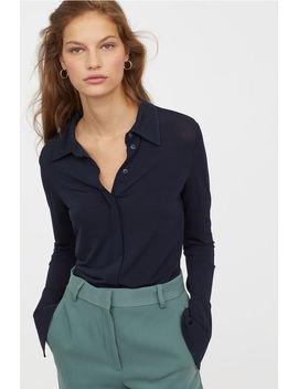 Airy Viscose Shirt by H&M