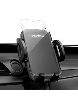 Mpow Car Mount, Universal Air Vent Phone Holder Adjustable Car Cradle With One Button Release And 360 Degrees Ratation For I Phone 7/7 Plus/6/6s Plus/5 S,Lg,Sony,Htc,Huawei And Other Mobile Phone by Mpow