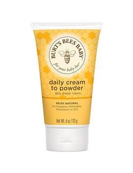 Burt's Bees 2 In 1 Diaper Cream & Baby Powder 113g by Burt's Bees