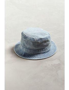 Bdg Washed Denim Bucket Hat by Bdg