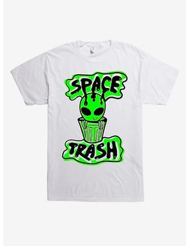 Space Trash Alien T Shirt by Hot Topic